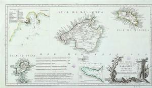 Historia. Mapa de Baleares